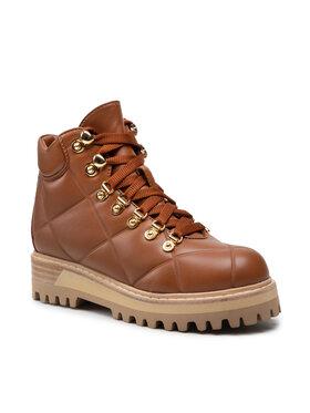 Le Silla Le Silla Ορειβατικά παπούτσια St.Moritz 7534T040M1MMFAK560 Καφέ