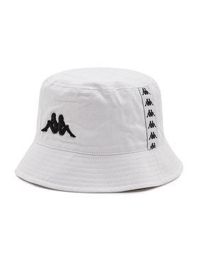 Kappa Kappa Текстилна шапка Gunther 307114 Бял