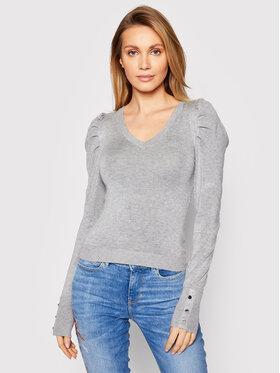 Guess Guess Pullover Carole W1RR05 Z2NQ0 Grau Slim Fit