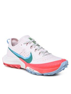 Nike Nike Buty Air Zoom Terra Kiger 7 CW6066 600 Biały