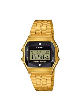 Casio Casio Ρολόι Vintage A159WGED-1EF Χρυσό