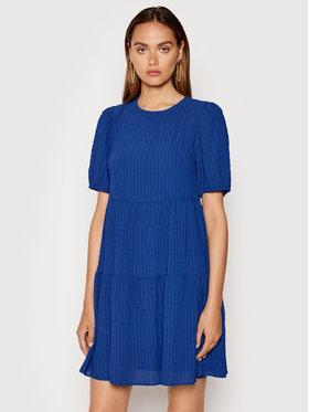 DKNY DKNY Každodenné šaty DD1EM711 Modrá Regular Fit