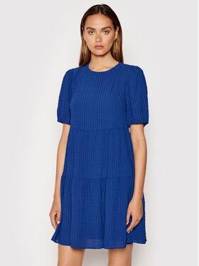 DKNY DKNY Každodenní šaty DD1EM711 Modrá Regular Fit