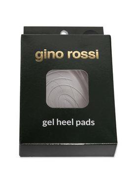 Gino Rossi Gino Rossi Gelové polovložky Gel Heel Pads W Bílá