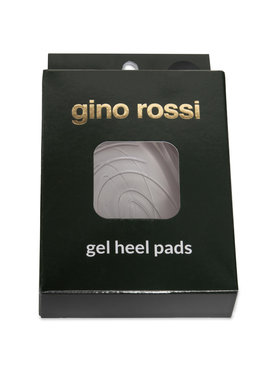 Gino Rossi Gino Rossi Полустелки от гел Gel Heel Pads W Бял