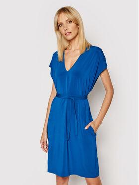Max Mara Max Mara Letní šaty Pavento 36210518 Modrá Regular Fit
