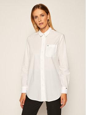 Calvin Klein Calvin Klein Košile Soft Poplin K20K202229 Bílá Relaxed Fit