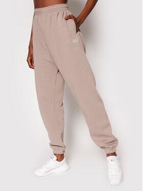 Reebok Reebok Spodnie dresowe Classic GS1724 Szary Oversize