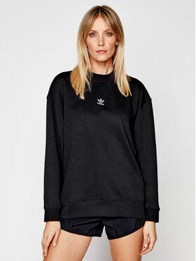 adidas adidas Bluză adicolor Essentials GN4770 Negru Regular Fit