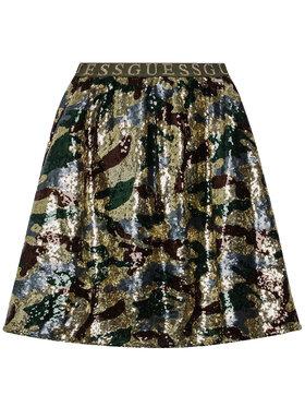 Guess Guess Spódnica J1RD14 WDLR0 Kolorowy Regular Fit