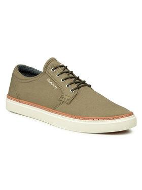Gant Gant Πάνινα παπούτσια Prepville 22638666 Πράσινο