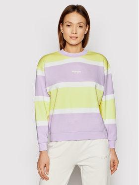 Wrangler Wrangler Sweatshirt Retro W6N0HAP26 Bunt Regular Fit