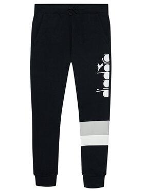 Diadora Diadora Teplákové nohavice Cuff 5Palle 102.176498 Čierna Regular Fit
