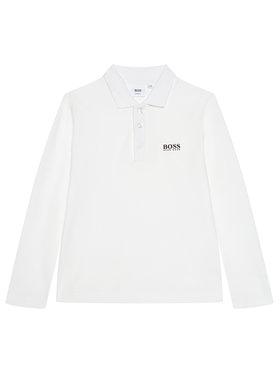 Boss Boss Polo J25L83 M Biały Regular Fit