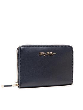 Tommy Hilfiger Tommy Hilfiger Великий жіночий гаманець Iconic Tommy Med Za AW010370 Cиній