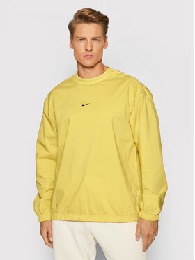Nike Nike Bluza Essentials DD7016 Żółty Regular Fit