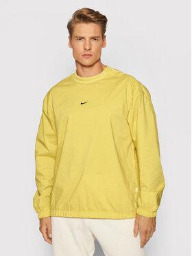Nike Nike Mikina Essentials DD7016 Žltá Regular Fit