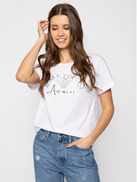 Emporio Armani Emporio Armani T-Shirt 164340 0P291 00010 Bílá Regular Fit
