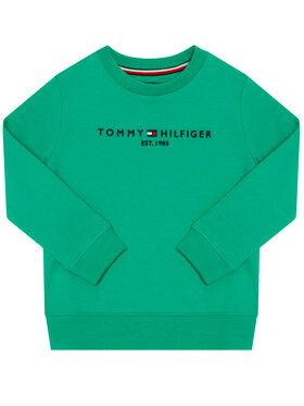 TOMMY HILFIGER TOMMY HILFIGER Džemperis Essential Cn KB0KB05797 M Žalia Regular Fit