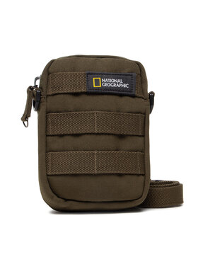 National Geographic National Geographic Мъжка чантичка Milestone Utility Bag N14215.11 Зелен