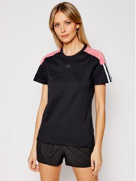 adidas adidas T-Shirt W Cb Lin T GL1446 Μαύρο Regular Fit