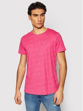 Tommy Jeans Tommy Jeans T-Shirt Jaspe DM0DM09586 Rosa Slim Fit