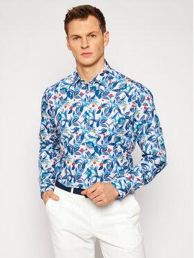 Pierre Cardin Pierre Cardin Koszula 5722/000/27412 Kolorowy Modern Fit