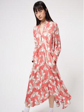 Hugo Hugo Každodenní šaty Kaflore 50447168 Růžová Regular Fit