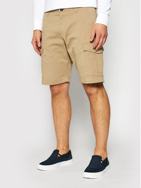 Jack&Jones Jack&Jones Pantalon scurți din material Joe 12182555 Bej Regular Fit