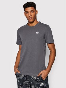 adidas adidas Marškinėliai adicolor Essential GN3413 Pilka Regular Fit