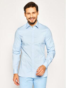 Trussardi Trussardi Marškiniai 52C00214 Mėlyna Slim Fit