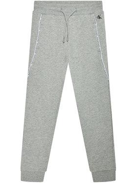 Calvin Klein Jeans Calvin Klein Jeans Donji dio trenerke Logo Piping IB0IB00711 Siva Regular Fit