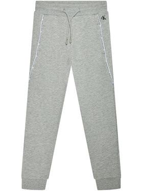 Calvin Klein Jeans Calvin Klein Jeans Sportinės kelnės Logo Piping IB0IB00711 Pilka Regular Fit