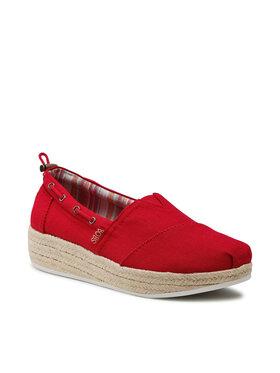 Skechers Skechers Εσπαντρίγιες Yacht Master 113075/RED Κόκκινο