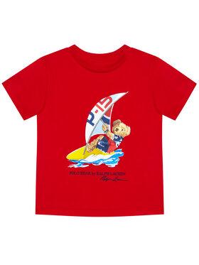 Polo Ralph Lauren Polo Ralph Lauren T-Shirt Ss Cn 323838249003 Czerwony Regular Fit