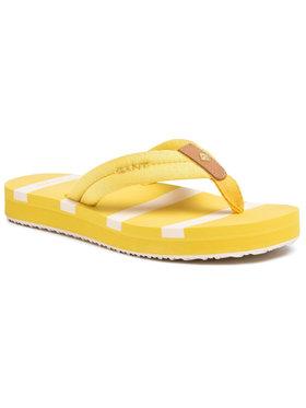 Gant Gant Šlepetės per pirštą Lemonbeach 20599426 Geltona