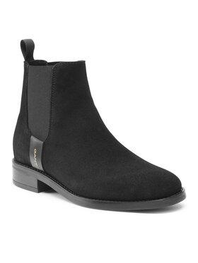 Gant Gant Kotníková obuv s elastickým prvkem Fayy 23553114 Černá