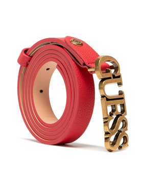 Guess Guess Moteriškas Diržas Destiny Belts BW7499 VIN20 Raudona