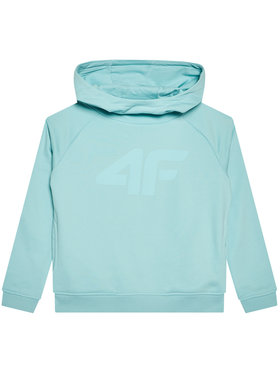 4F 4F Bluza HJL21-JBLD002B Zielony Regular Fit