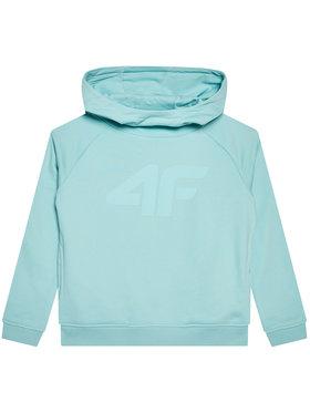 4F 4F Mikina HJL21-JBLD002B Zelená Regular Fit