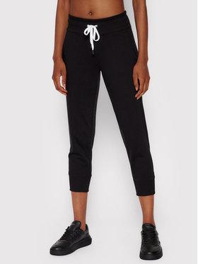 DKNY Sport DKNY Sport Teplákové kalhoty DP0P2387 Černá Regular Fit