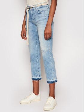 Desigual Desigual Jeansy Pondio 21SWDD46 Modrá Slim Fit