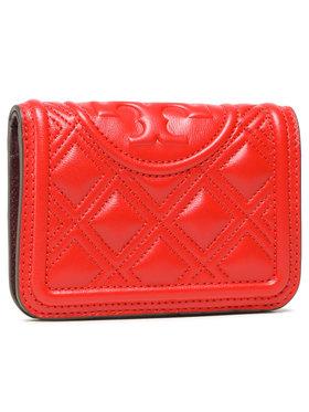 Tory Burch Tory Burch Duży Portfel Damski Fleming Medium Slim Wallet 79404 Czerwony