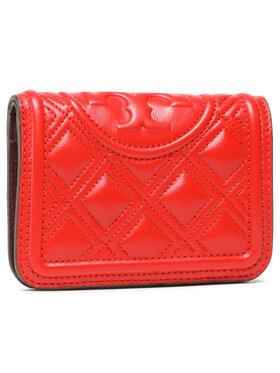 Tory Burch Tory Burch Portafoglio grande da donna Fleming Medium Slim Wallet 79404 Rosso
