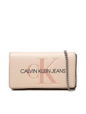 Calvin Klein Jeans Calvin Klein Jeans Torebka Sculpted Mono Phone Xbody K60K608398 Beżowy
