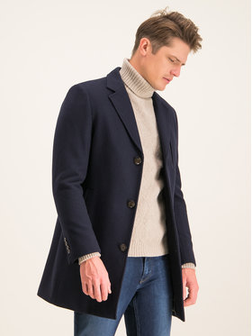 Digel Digel Palton Divan 1294404 Bleumarin Regular Fit