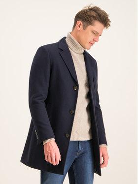 Digel Digel Vlněný kabát Divan 1294404 Tmavomodrá Regular Fit