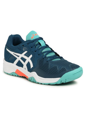 Asics Asics Παπούτσια Gel-Resolution 8 Gs 1044A018 Σκούρο μπλε