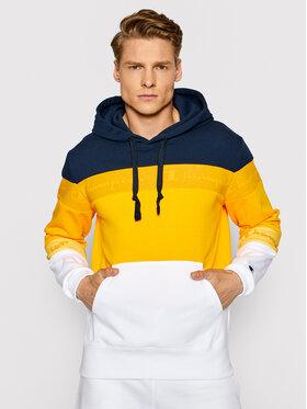 Champion Champion Sweatshirt Ombre Stripe 215946 Jaune Comfort Fit