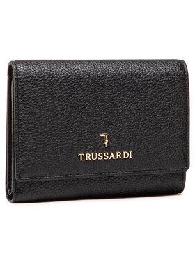 Trussardi Trussardi Portefeuille femme grand format Pre Lily Trifold 75W00280 Noir